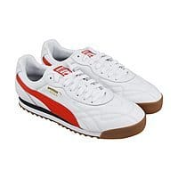Men's PUMA Roma Anniversario Sneakers White/Red - $44.99 + FS