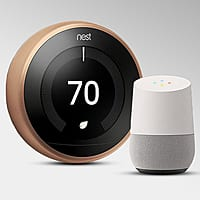 Verizon Rewards Members Only - Nest Thermostat $218 - Nest + Google Home $327