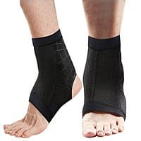 1 Pair Compression Ankle Brace Copper Infused Arch Support for Running Cycling Travel $  7.79 AC on Amazon FS w/Prime