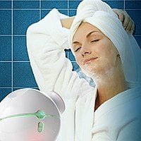 Facial Steamer with Hot and Cold Steam for Shrinking Pores - $  14.99 @ Amazon