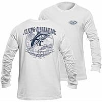 Flying Fisherman Traditions L/S Tee, White, L $  7.84