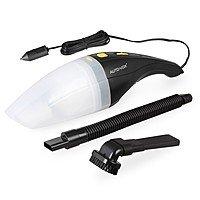 AUTO-VOX Car Vacuum Cleaner 12V Handheld Wet & Dry Vaccuum with Cigarette Lighter Plug $  9.99 @Amazon