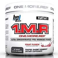 BPI 1.M.R Pre-Workout (28 servings) for $  21.99 + Shipping $  27.98
