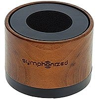 Symphonized NXT Walnut Wood Bluetooth Portable Speaker for $  24.99 + Free Shipping