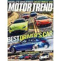 Motor Trend Magazine- 4 yrs for $12
