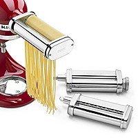 KitchenAid® 3-Piece Pasta Roller & Cutter Set (KSMPRA) $  109.99 +FS @amazon