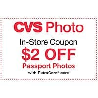 10% Off CVS Photo Order + [YMMV] $2 Off Passport Photo