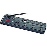 Amazon - APC 8-Outlet Surge Protector 2770 Joules with Telephone and DSL Protection - $  14 - FS with Prime or orders over $  25