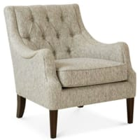 Macy's: $  197 Glenis Tufted Accent Chair