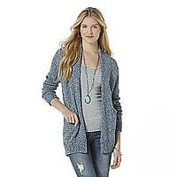 Bongo Junior's Open-Front Sweater $  17.99 + ship @sears.com