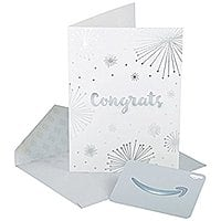Amazon Premium Greeting Cards with Anytime Gift Cards, Pack of 3 $  0.99 FS w/ Prime @Amazon