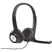 Logitech USB Headset H390 with Noise Cancelling Mic $  17.99