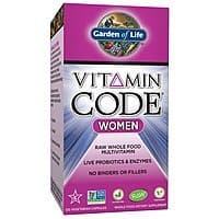 Garden of Life Multivitamin for Women - Vitamin Code Women's Raw Whole Food Vitamin Supplement with Probiotics, Vegetarian, 120 Capsules [Women] $  15.7