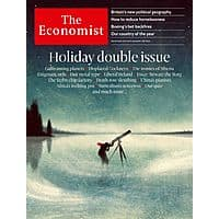 1-Year of The Economist Magazine (51-Issues, Print or Digital) $47.99