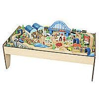 Imaginarium Wooden Train Table - $52 FS @ TRU (was $130)