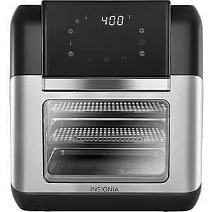 Insignia 10-Quart Digital Air Fryer Oven (Stainless) $60 + Free S/H