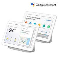 Google Home Hub Smart Display Powered by Google Assistant, Chalk, 2-pack presale - Costco Members only $249.99