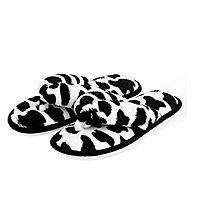 Indoor Thong Slippers for Women Open Toe Slide On, Plush Anti Slip Flip Flops $9.09
