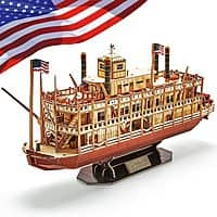142-Pieces CubicFun 3D Foam Puzzle Kit (Mississippi Steamboat) $13.50 + Free Shipping w/ Prime or on $25+