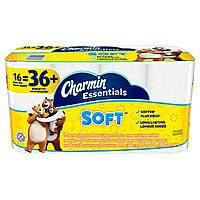 16-Count Charmin Essentials Giant Rolls Bath Tissue: Soft or Strong $4.80 or less + Free Store Pickup