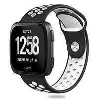Fitbit Versa Sport Silicone Replacement Breathable Strap Bands for New Fitbit Versa Smart Fitness Watch $4