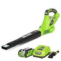 GreenWorks G-Max 40V 150 MPH Variable Speed Cordless Blower w/ 2Ah Battery/Charger $75.02 & More + Free Shipping via Amazon