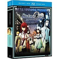 Anime Blu-Ray/DVD Combo: Spice & Wolf: Complete Series $15.99, Steins Gate: Complete Series Classic $14.99 via Amazon