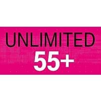 T-Mobile ONE Unlimited - $60 (2 Lines, Ages 55+)