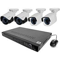 LaView NVR PoE IP 8-Chan Security Surveillance System w/ 4x Bullet Camera + TP-Link HS100 Smart Plug $304.99 + Free Shipping w/ MasterPass Checkout