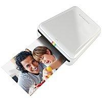 Polaroid ZIP Mobile Printer w/ ZINK Zero Ink Printing (White or Blue) $  77.79 + Free Shipping via Amazon