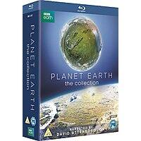 Planet Earth: The Collection Narrated by Sir David Attenborough (Region Free Blu-Ray) ~$  22.50 Shipped via Amazon.co.uk