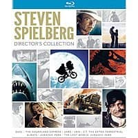 Steven Spielberg Director's Collection (Blu-Ray) $  23.49 via Amazon