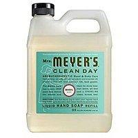 Mrs. Meyers Liquid Hand Soap Refill, Basil Scent, 33 Oz [Basil] $5.36