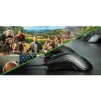 Razer DeathAdder Essential Gaming Mouse w/ Far Cry 5, Tom Clancy's: Rainbow Six Siege AE/Ghost Recon Wildlands or Assassin's Creed Origins (PCDD) for $43.99