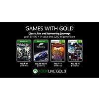 Xbox Live Games w/ Gold: August 2019 Games: Gears of War 4, Forza Motosport 6, Torchlight & Castlevania: Lords of Shadow (XBL Required) Image