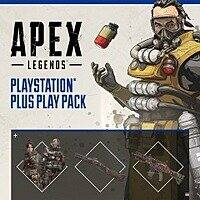 Apex Legends: PlayStation Plus Play Pack (PS4): 2 Character, Weapon, Banner Skin FREE for PlayStation Plus Members Image