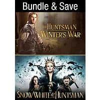 Snow White and the Huntsman + The Huntsman: Winter's War Extended Editions (Digital 4K UHD Films) $9.99 via VUDU