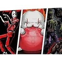 Select Halloween/Freaky Fresh Graphic T-Shirts (various styles/sizes) $9.75 + Free S&H for Prime Members
