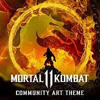 Mortal Kombat 11 Community Art Theme or Destiny Connect Theme (PS4) FREE via PlayStation Store Image