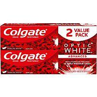 Colgate Optic White Whitening Toothpaste, Sparkling Mint - 5 oz, 2 Pack - $5.25 - Amazon $5.24