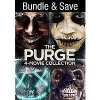 The Purge: 4-Movie Collection (4K UHD Digital Films) $17.99 via VUDU