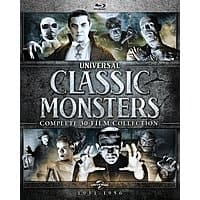 Universal Classic Monsters: Complete 30-Film Collection (Blu-Ray) $69.99 + Free Shipping via Amazon