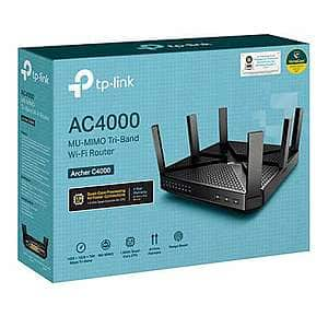 TP-Link Archer C4000 Tri-Band Wi-Fi Router - $99.00