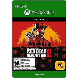 Red Dead Redemption 2 (Xbox One Digital Code) $20