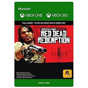 Red Dead Redemption (Xbox 360/Xbox One Digital Code) $8