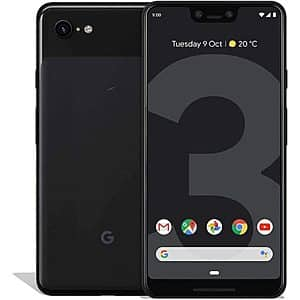 **RFB**Google Pixel 3 or Pixel 3XL (Fully Unlocked)(Scratch & Dent)for $129.99-$149.99 F/S w Prime