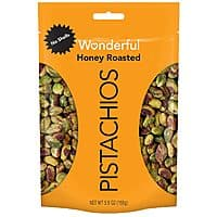 Wonderful Pistachios Honey Roasted - Shelled 5.5oz - $3.79