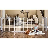 "Regalo 4-in-1 Extra Large 192"" Child Safety Gate & Metal Playard $  75.99 @groupon"