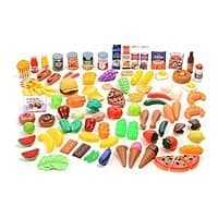 Pretend Food Deluxe Set (120-Piece) $24.99 at groupon