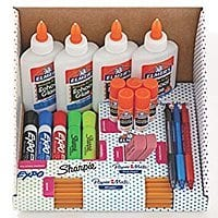 $  8.79 for School Supply Kit: Sharpie Highlighters, Paper Mate Pens, EXPO Dry Erase, Elmer's Glue & More, 31 Count